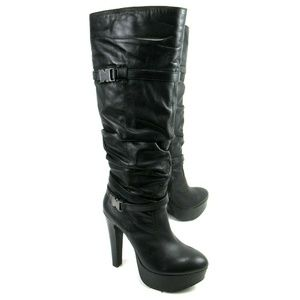 Jessica Simpson - Knee Length High Heel Boots Sz 9